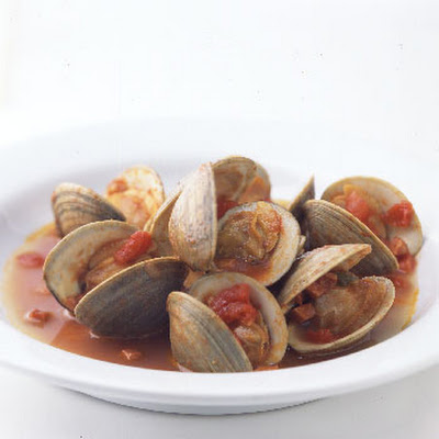 Clams and Chorizo with Tomato and Garlic