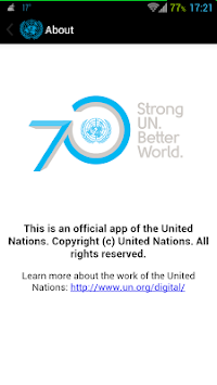 UN News Reader APK screenshot thumbnail 1