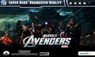 Screenshot of SuperHero AR
