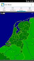 Screenshot of Het Weer