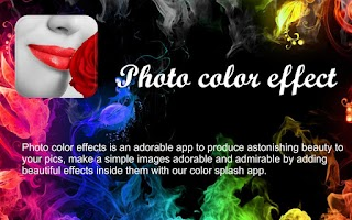 Screenshot of Photo Color Effect