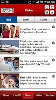 Screenshot of Headlines Today