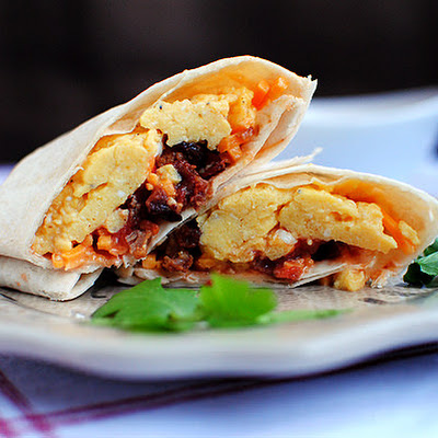 Frozen Breakfast Burritos