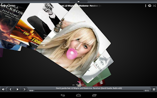 Screenshot of iSense Music - 3D Music Player