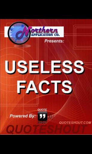 Useless Facts 2012 - Free