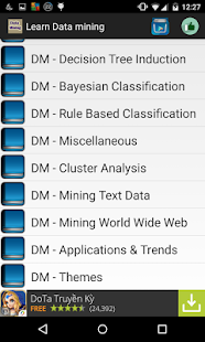 Learn data mining - screenshot