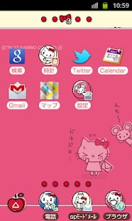 HELLO KITTY Theme80 - screenshot