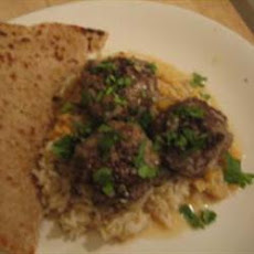 Pakistani Meatballs with Gravy (Koftay)