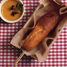 Andouille Corn Dogs Recipe