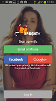 Screenshot of BeNaughty - Online Dating App