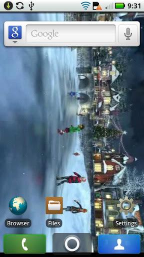 Christmas Town Live WALLPAPER