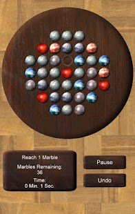 Marble Solitaire Ultra - screenshot