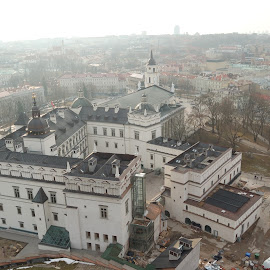 Vilnius Cathedral  by Paul Nelson - City,  Street & Park  Historic Districts ( vilnius, old city, cathedral, cityscape, view )