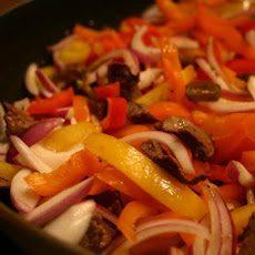 My Very Best Steak or Chicken Fajitas