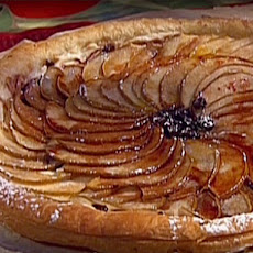 Pear Tart with Goat Cheese and Port