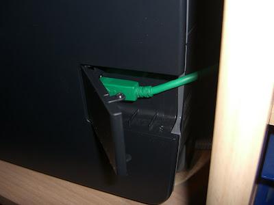 USB-Klappe (offen)