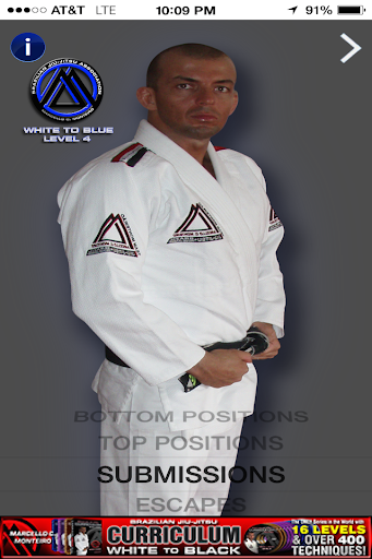 BJJ WHITE-BLUE LVL.4 JIU JITSU - screenshot