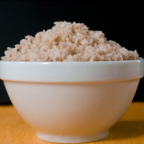Slow Cooker Brown Rice