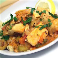 Fish Stew with Couscous