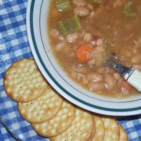 Wild Mushroom And Navy Bean Soup Recipes — Dishmaps