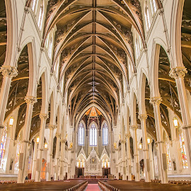 Cathedral of the Holy Cross, Boston by Cary Chu - Buildings & Architecture Places of Worship (  )