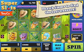 Screenshot of Super Slots - Slot Machines