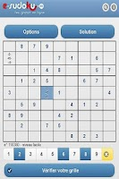 Screenshot of e-sudoku.fr