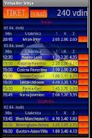 Screenshot of VirtualBet Srbija