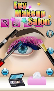 Download Eyes Makeup Salon - kids games APK on PC