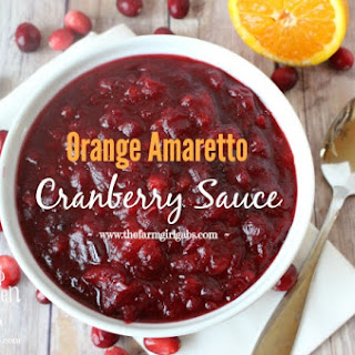 Orange Amaretto Cranberry Sauce