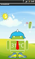 Screenshot of Termodroid