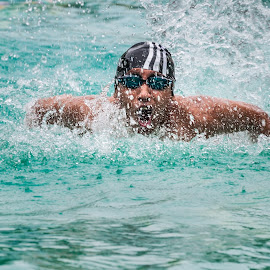 Thirst To Win by Anurag Das - Sports & Fitness Swimming