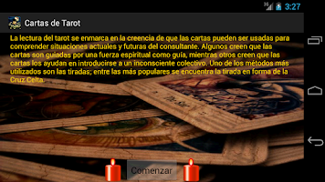 Screenshot of Cartas de Tarot - Free