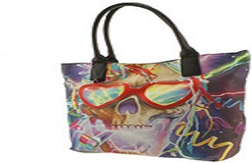 500 Party Skull Tote Bag - Iron Fist