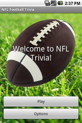 NFL Football Trivia License