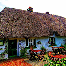 by Rafal Sych - Instagram & Mobile Other ( ireland, irish cottage, cottage, adare )
