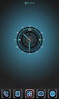 Screenshot of BlueLight Clock Widget