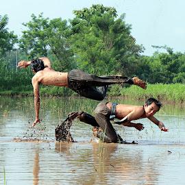 Pencak Silat by Assaifi Fajarmass - Sports & Fitness Other Sports ( pencak silat, sports, fighting, men )