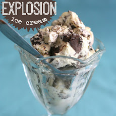 Brownie Explosion Ice Cream