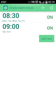 Screenshot of Simple Alarm Clock