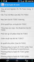 Screenshot of Toeic Test - On Thi Toeic