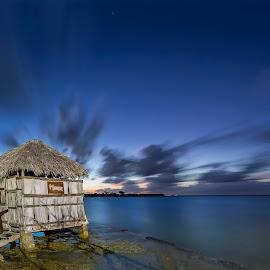 Cuba - caribbean by Peter Krocka - Landscapes Travel ( sunset, beautiful, beach, seascape, cuba, , Beach, blue, water, ocean. , storm, stormy, weather )