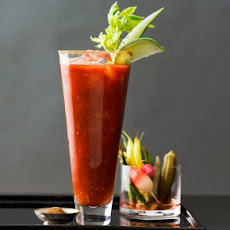 Hot And Spicy Bloody Mary Granita