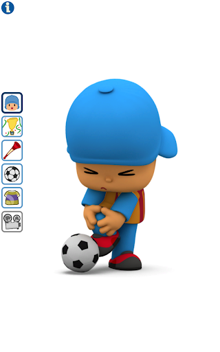 Talking Pocoyo Football - screenshot