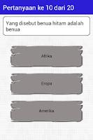 Screenshot of Cerdas Cermat SMP