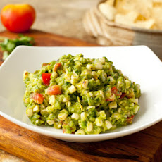 Grilled Corn Guacamole