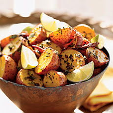 Roasted Potatoes with North Indian Spices
