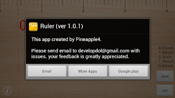 Screenshot of Ruler