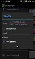 Screenshot of DicePlayer