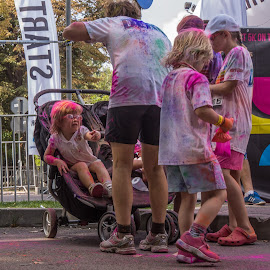 All Ages Colors by Tudor Migia - News & Events World Events ( bucharest, the colorrun, color, 5k, kids )